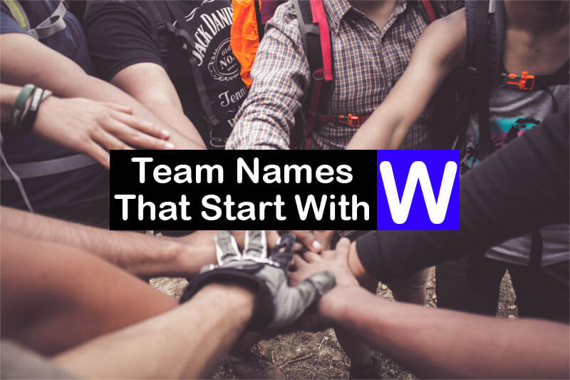 Team-Names-That-Start-With-W